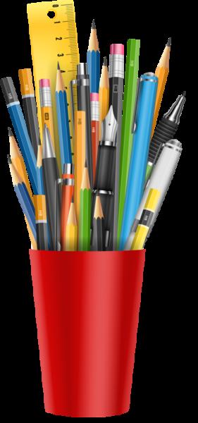 Perá, ceruzy a zvýrazňovače